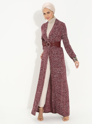 Maroon - Multi - Unlined - Topcoat