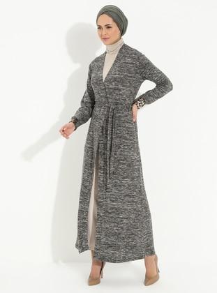 Khaki - Multi - Unlined - Topcoat