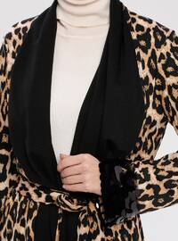 Black - Brown - Leopard - Unlined - Topcoat