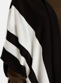 Black - Stripe - Cardigan