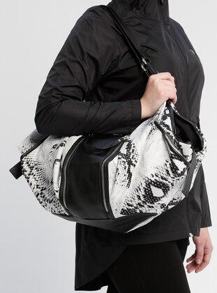 Black - White - Ecru - Shoulder Bags
