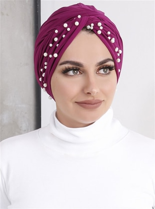Fuchsia - Plum - Simple - Bonnet