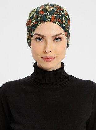 Khaki - Lace up - Simple - Cotton - Bonnet
