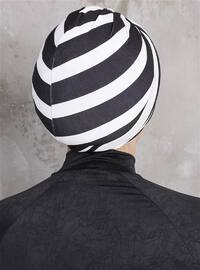 Black - White - Simple - Bonnet