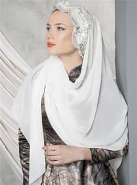 White - Lace - Shawl