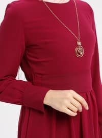 Cherry - Crew neck - Fully Lined - Dresses