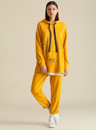 Yellow - Tracksuit Bottom