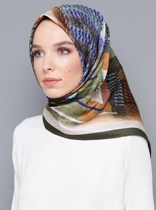 Multi - Printed - Scarf - Armine Eşarp