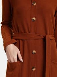 Brown - Dresses