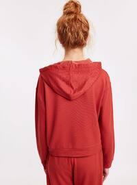 Brown - Sweat-shirt