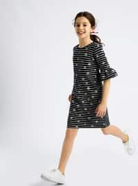 Navy Blue - Age 8-12 Dress