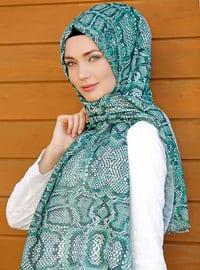 Multi - Printed - Cotton - Shawl