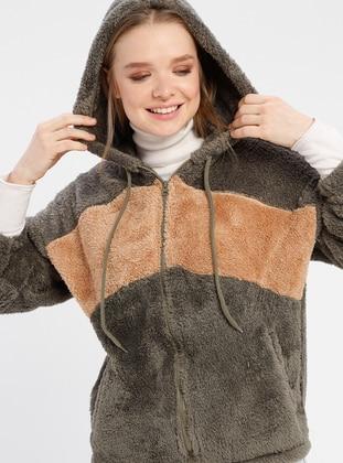 Khaki - Unlined - Puffer Jackets