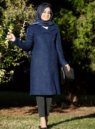 Saxe - Fully Lined - Shawl Collar - Wool Blend - Coat