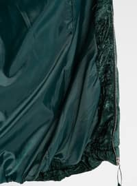 Emerald - Fully Lined - Polo neck - Puffer Jackets