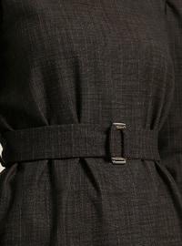 Anthracite - Polo neck - Tunic