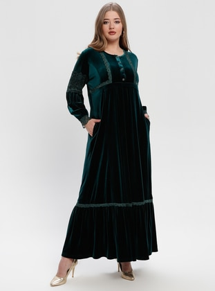 b3efe2e9d79 Muslim Plus Size Dresses - Modanisa.com - 6 33