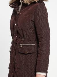 Cherry - Fully Lined - Polo neck - Coat