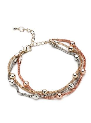 Golden tone - Silver tone - Bracelet