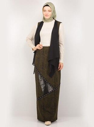Black - Khaki - Fully Lined - Suit