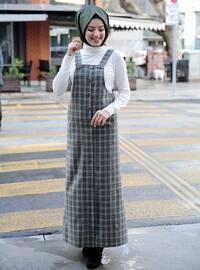 Green - Green - Green - Modest Dress