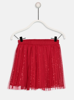 Red - Age 8-12 Skirt