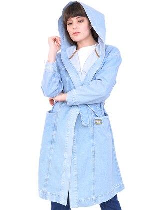 Baby Blue - Cotton - Abaya