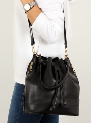 Black - Shoulder Bags - Luwwe