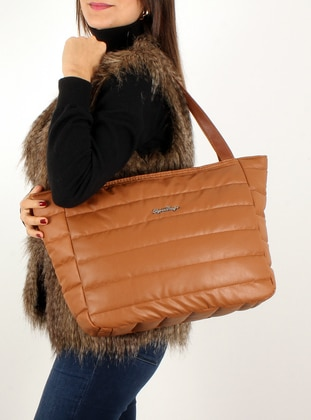Tan - Shoulder Bags - Luwwe