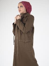 Khaki - Fully Lined - Topcoat