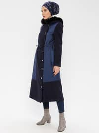 Indigo - Fully Lined - Nylon - Coat