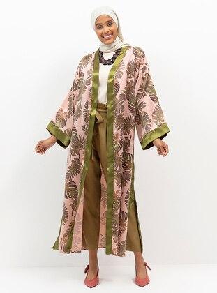 Green - Powder - Multi - Unlined - Topcoat
