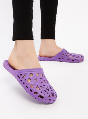 Purple - Sandal - Slippers - TWIGY