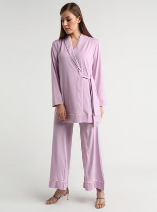 Pink - Lilac - Unlined - Suit