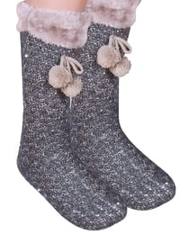 Smoke-coloured - Sandal - Slippers - TWIGY