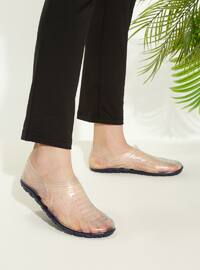 Navy Blue - Sandal - Slippers - TWIGY