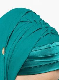 Green - Emerald - Plain - Instant Scarf