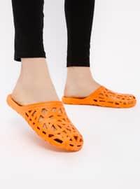 Orange - Sandal - Slippers - TWIGY
