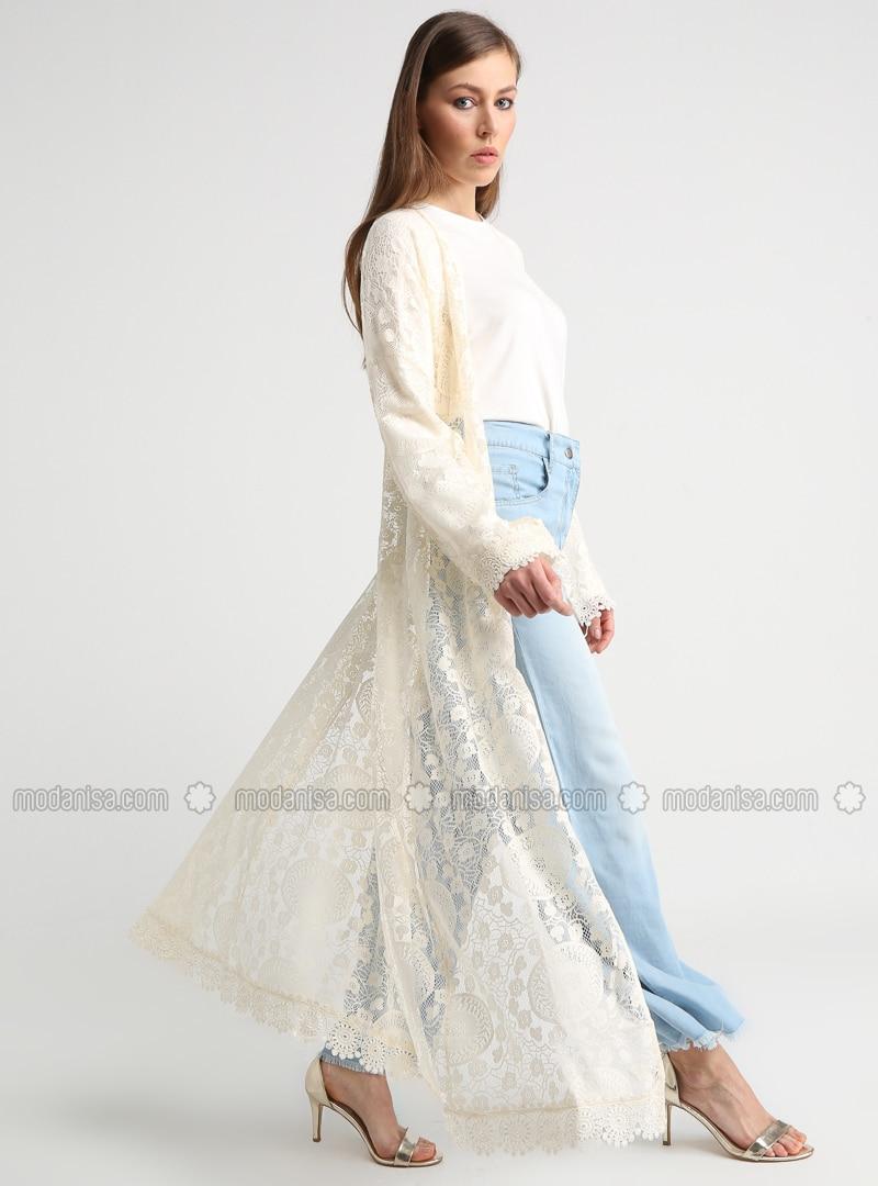 Cream - Unlined - Topcoat