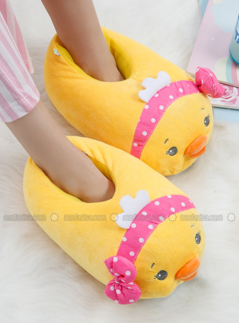 Yellow - Sandal - Slippers - TWIGY