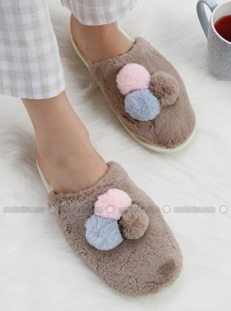 6defb66439a4b Brown - Sandal - Slippers - TWIGY