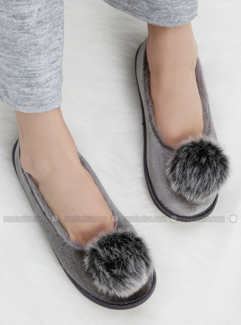 Gray - Sandal - Slippers - TWIGY