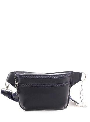 Navy Blue - Clutch - Bum Bag