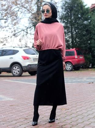 Black - Powder - Unlined - Suit