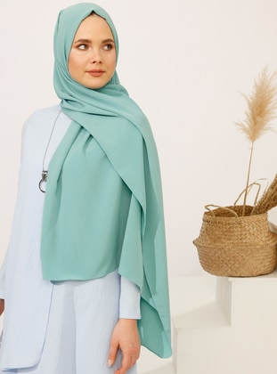 Mint - Plain - Shawl