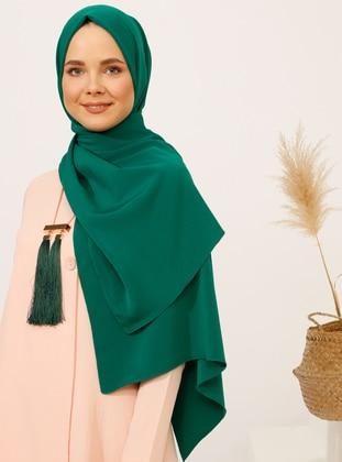 Emerald - Plain - Shawl - Şal
