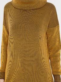 Mustard - Polo neck - Acrylic -  - Tunic