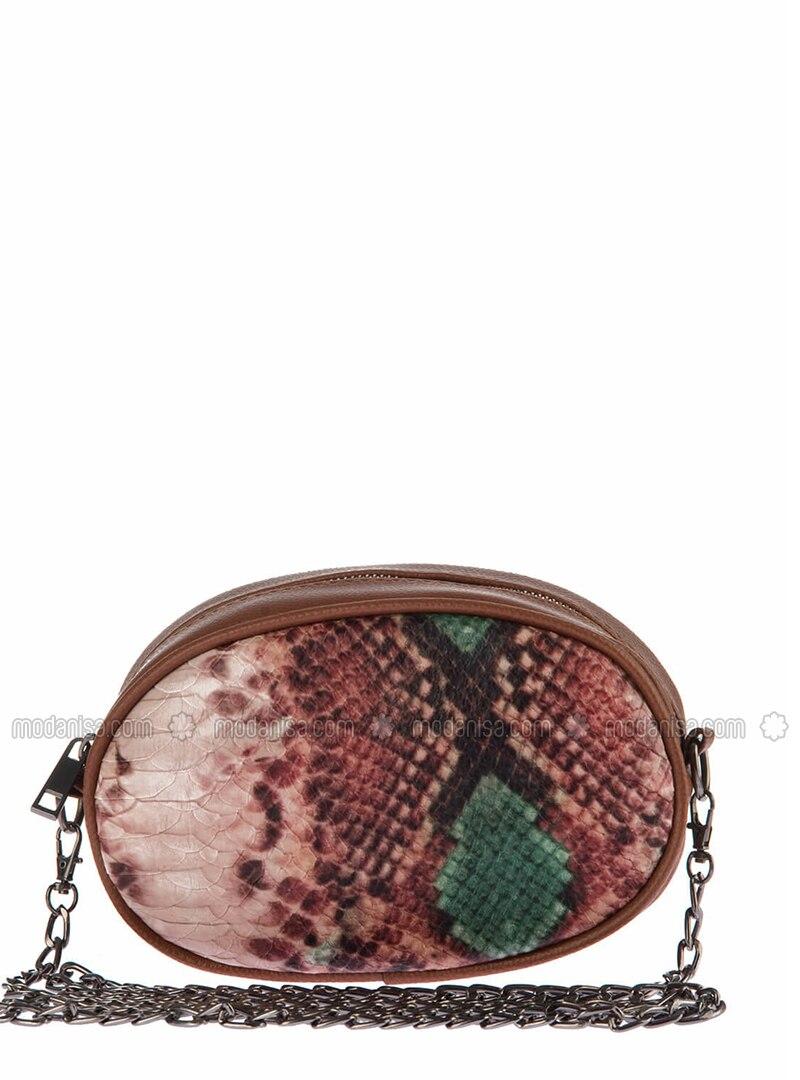 Green - Brown - Clutch - Bum Bag