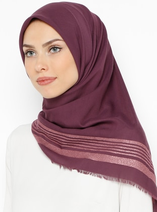 Plum - Plain - Scarf