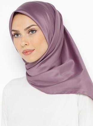 Lilac - Plain - Twill - Scarf